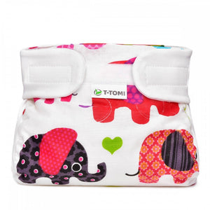 T-tomi Orthopedic abduction panties 3-6 kg 1 piece pink elephants - mydrxm.com