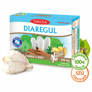 Organic Diaregul Blood Sugar BIO Treatment 60 pcs vitamins 640mg Hedgehog Ginger - mydrxm.com