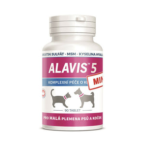 Alavis 5 MINI Dog & Cat Joints Complex Care 90 capsule Vitamins MSM - mydrxm.com