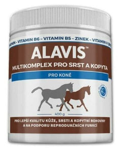 Alavis Multicomplex for Horses Coat Hair Skin and Hoof 400 g Vitamins Patent - mydrxm.com