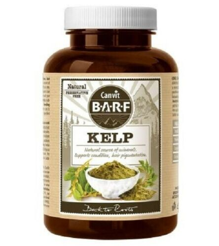 Canvit Barf Kelp Natural Vitamins Minerals For Dogs Up to 4 months supply - mydrxm.com