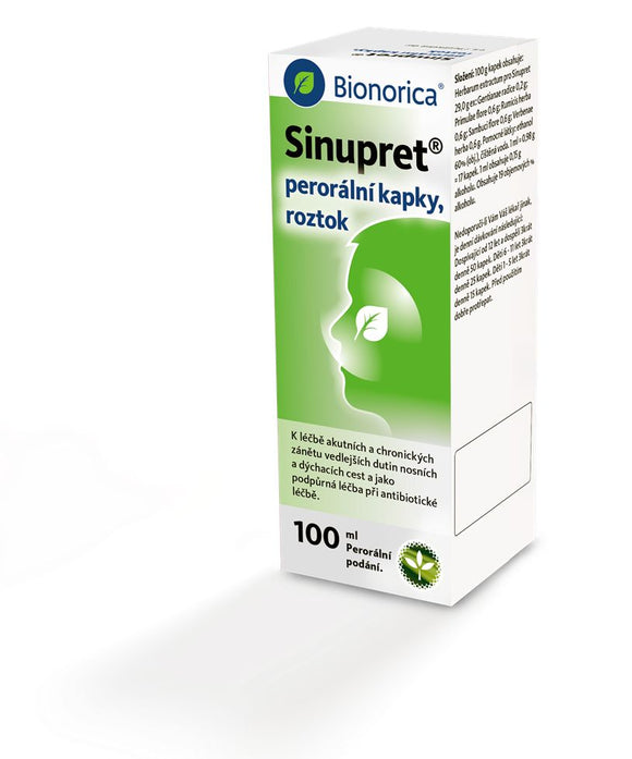 Sinupret drops 100 ml - mydrxm.com