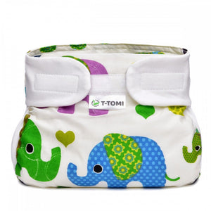 T-tomi Orthopedic abduction panties 3-6 kg 1 pc green elephants - mydrxm.com