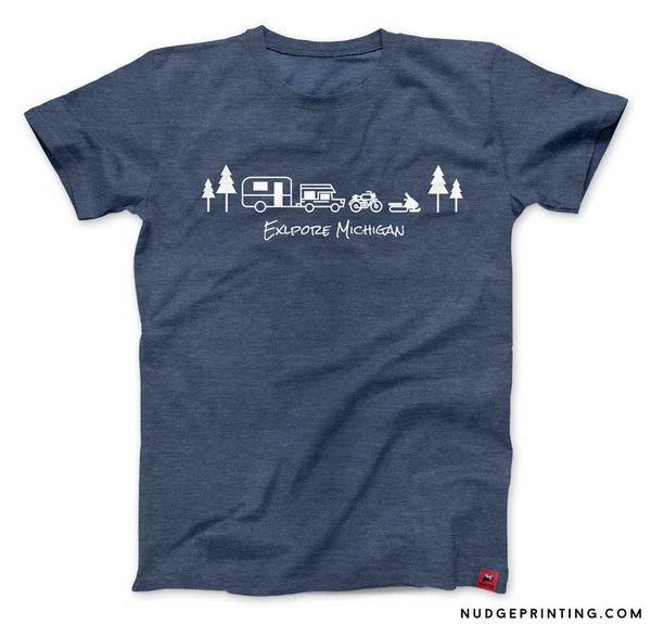 Explore Michigan T-Shirt