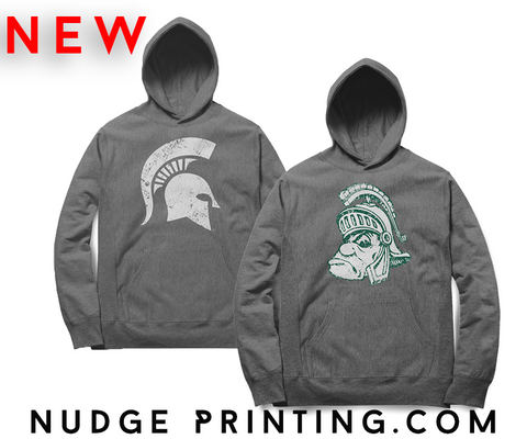 Michigan State Spartan Pullover Hoodies