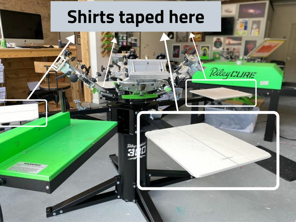 Where shirts go to be printed