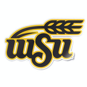 Wichita State University Shockers WSU Logo Shocks Vinyl Car Window Decal Bumper Sticker Laptop Sticker - Nudge Printing