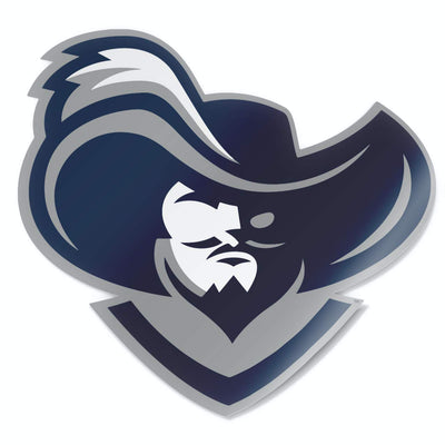 Xavier University D'Artagnan The Musketeer Car Window Decal Bumper Sticker - Nudge Printing