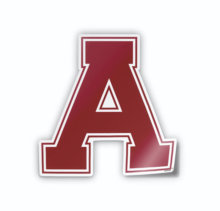 ALMA College Red A Car Decal - Nudge Printing