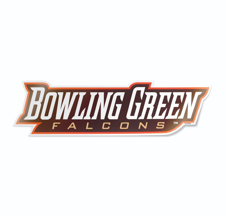 Bowling Green Falcons Car Decal - Nudge Printing