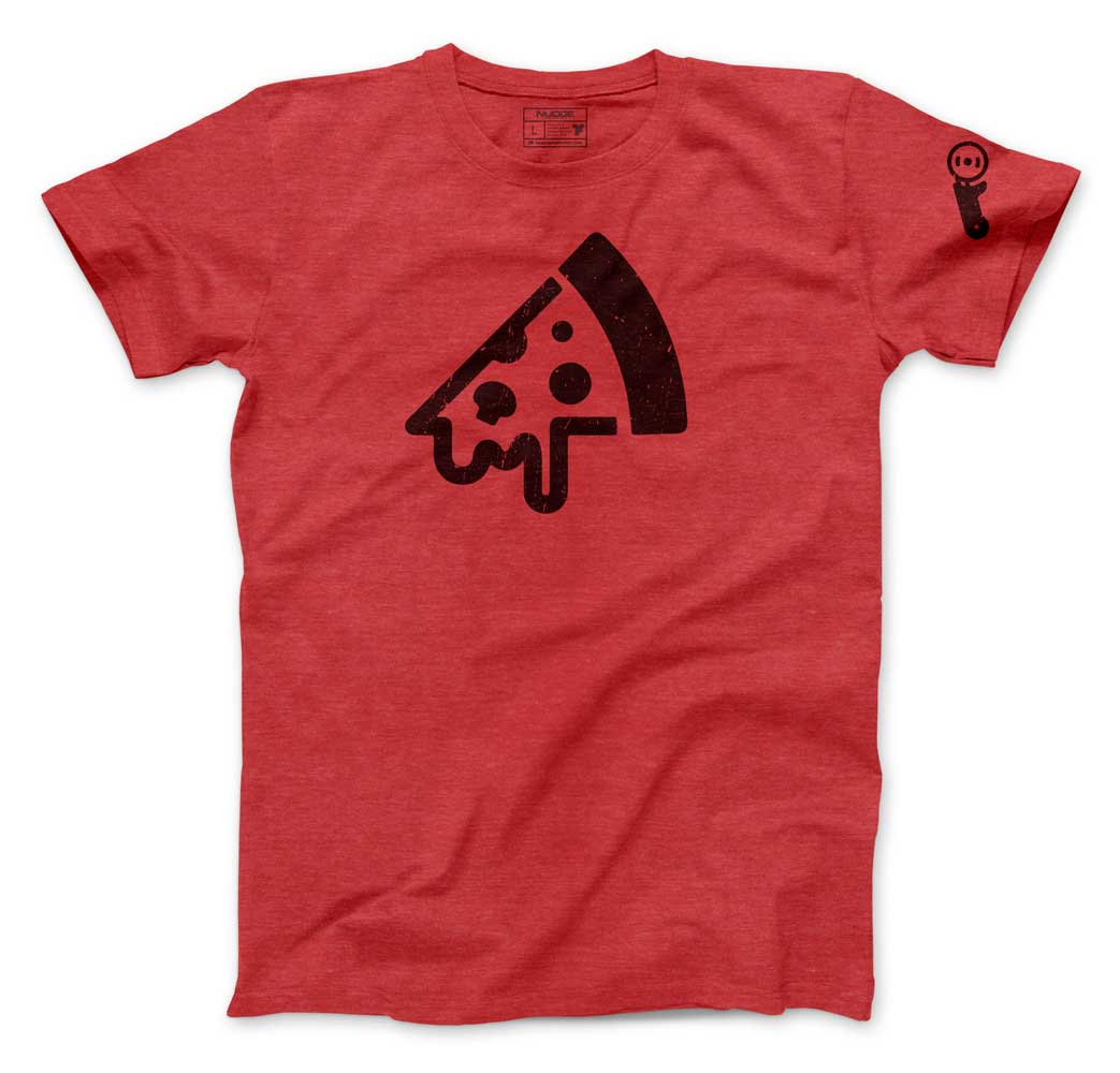 Pizza and Cutter Tee - Nudge Printing