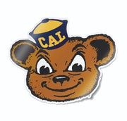 Vintage University of California Berkeley Bear Vinyl Car Decal Sticker - Nudge Printing