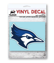 Creighton University Bluejay Car Decal - Nudge Printing