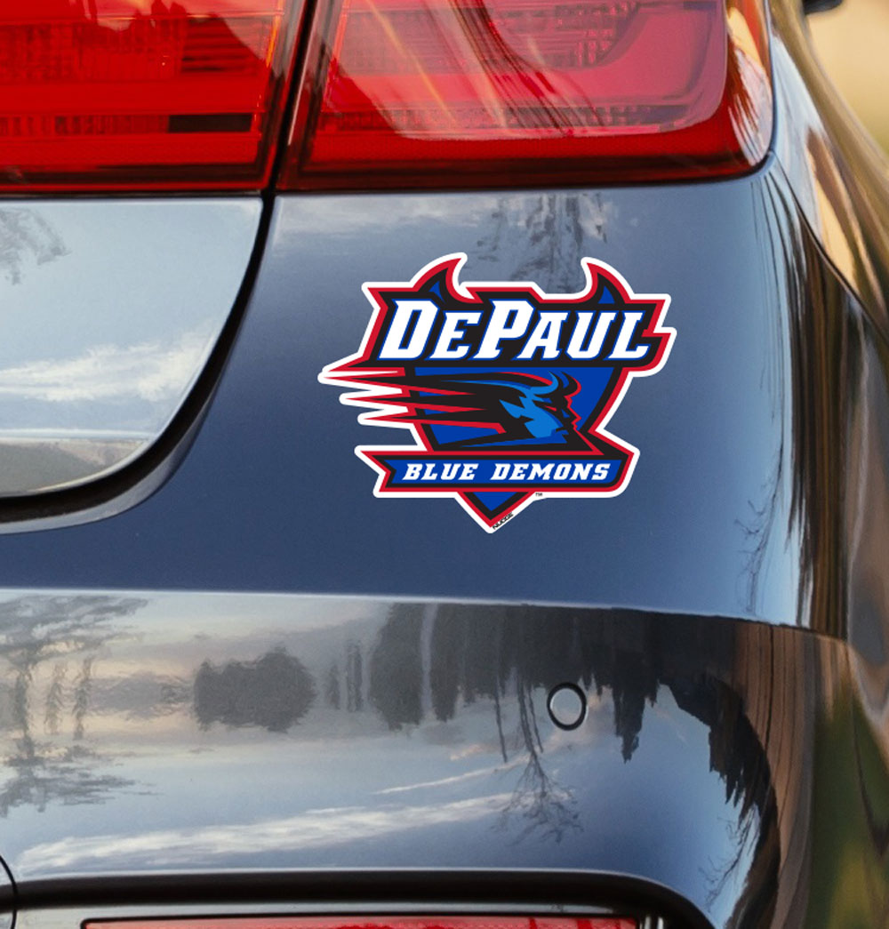 DePaul University Logo Vinyl Car Decal Sticker - Nudge Printing