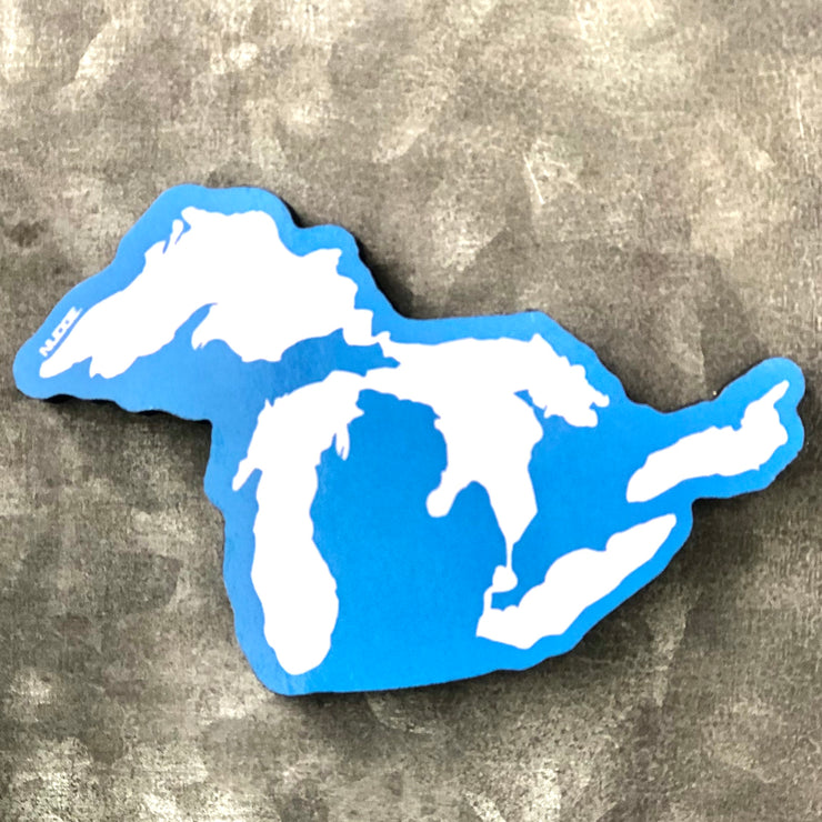 Great Lakes Magnet for Refrigerator - Nudge Printing
