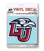 Liberty University Logo Vinyl Car Decal Sticker - Nudge Printing