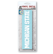 Michigan State MSU Spartans Athletics Font Vinyl Car Decal - Nudge Printing