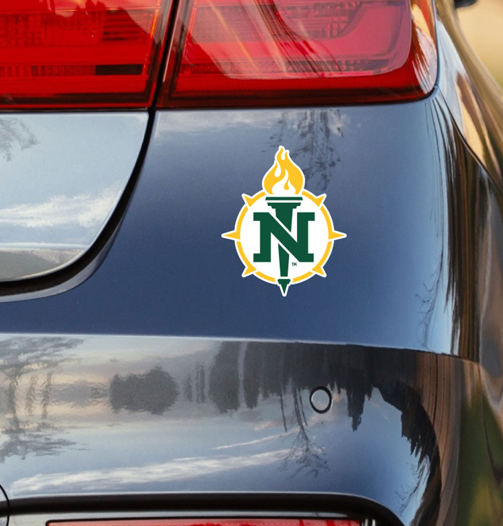 Northern Michigan University Logo Vinyl Car Decal Sticker - Nudge Printing