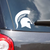 Classic Michigan State University Spartan Helmet Sparty Head Vinyl Car Decal Sticker