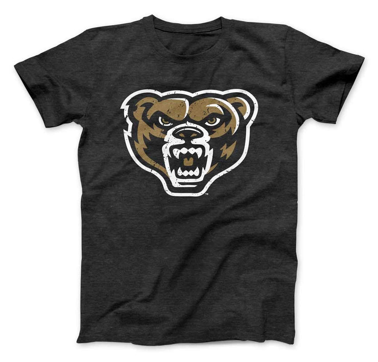 Oakland University Golden Grizzlies Premium T-Shirt - Nudge Printing