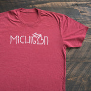 Michigan Doodle T-Shirt - Nudge Printing