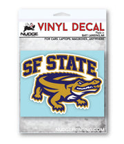 San Francisco State University Logo Car Decal - Nudge Printing