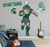 Michigan State University Ready for Battle Sparty Mascot - XL MSU Sparty Wall Decal Set