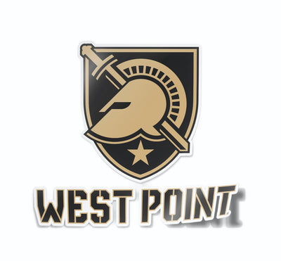 West Point Academy Black Knights Car Decal Sticker - Nudge Printing