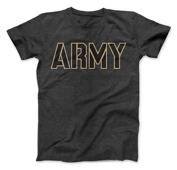 US Military Academy Army West Point Wordmark T-Shirt - Nudge Printing