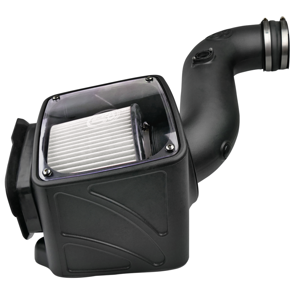 S&B Dry Extendable Cold Air Intake for 2006-2007 Chevy/ GMC Duramax LLY-LBZ 6.6L