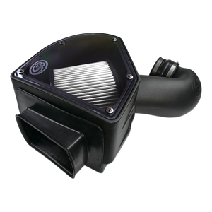 S&B Dry Extendable Cold Air Intake for 1994-2002 Dodge RAM Cummins 5.9L