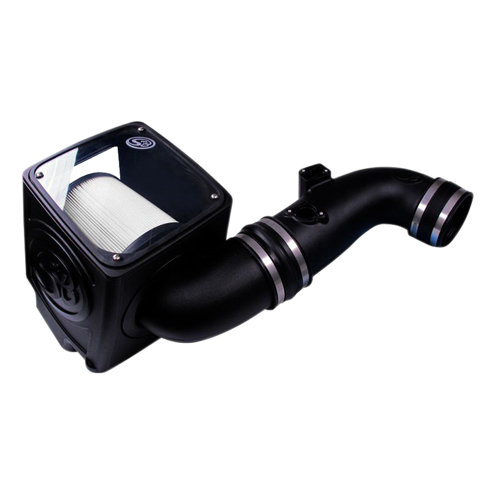 S&B Dry Extendable Cold Air Intake for 2011-2016 Chevy/ GMC Duramax  LML 6.6L