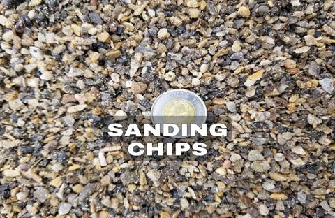 Sanding Chips - TMH Industries