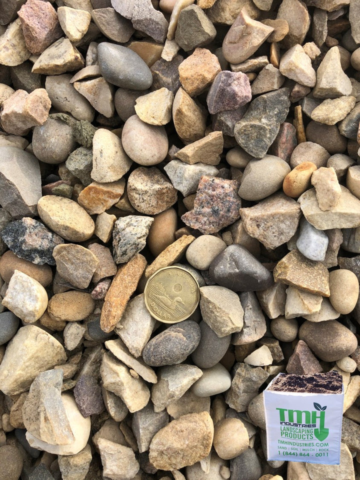 25mm(0.98 Inch) Washed Gravel  - Available out of Drayton Valley