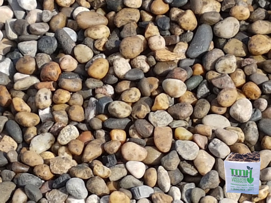 12.5mm(0.49 Inch) Pea Washed Gravel - Available Out Of Drayton Valley