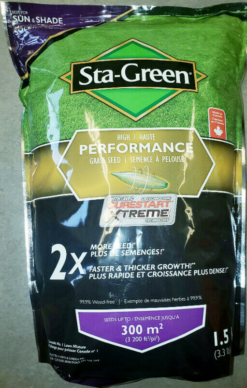 Sta-Green - Sun and Shade - High Performance Grass Seed