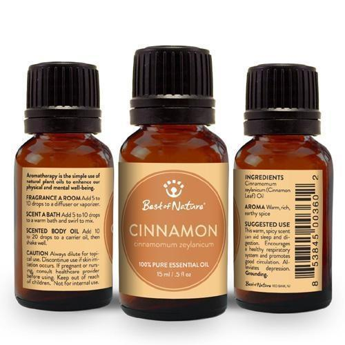 Cinnamon Leaf Essential Oil-Essential Oil-healthorganicstore.com