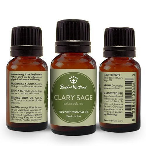 Clary Sage Essential Oil-Essential Oil-healthorganicstore.com