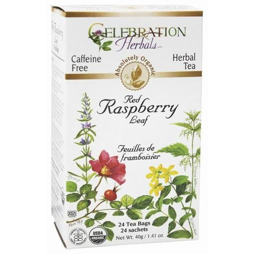 Red Raspberry Leaf Tea Organic 24 BAG - healthorganicstore.com