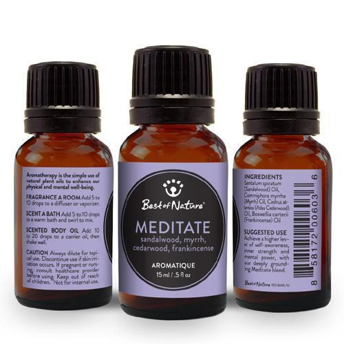 Meditate Aromatique-Essential Oil-healthorganicstore.com