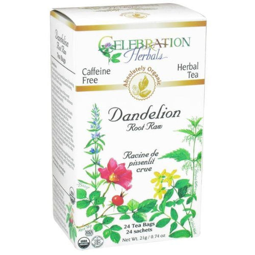 Dandelion Root Raw Tea Organic 24 BAG