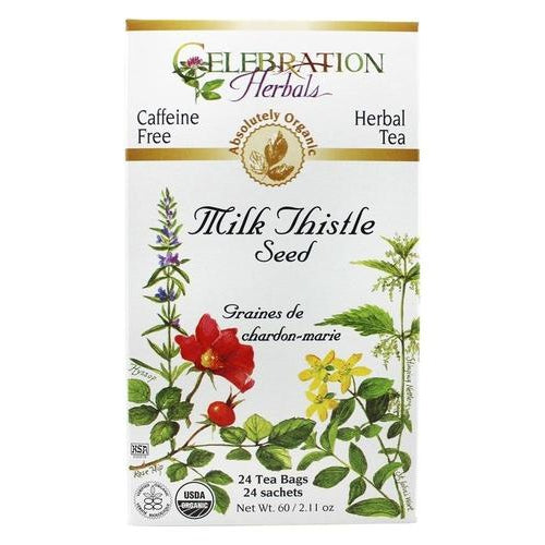 Milk Thistle Seed Organic 24 BAG