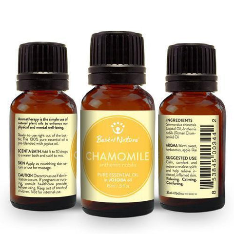 Roman Chamomile Essential Oil blended with Jojoba-Essential Oil-healthorganicstore.com