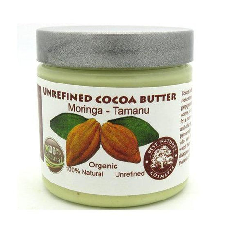 Cocoa Butter with Moringa Tamanu Oils-Beauty-Health Organic LLC