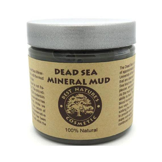 Dead Sea Mineral Mud Removes Toxins and Impurities-Beauty-healthorganicstore.com
