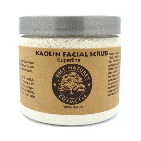 Kaolin Facial Scrub. Mask for Sensitive Skin.-Beauty-Health Organic LLC