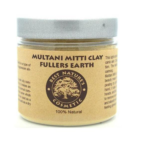 Multani Mitti Clay Fullers Earth-Beauty-Health Organic LLC
