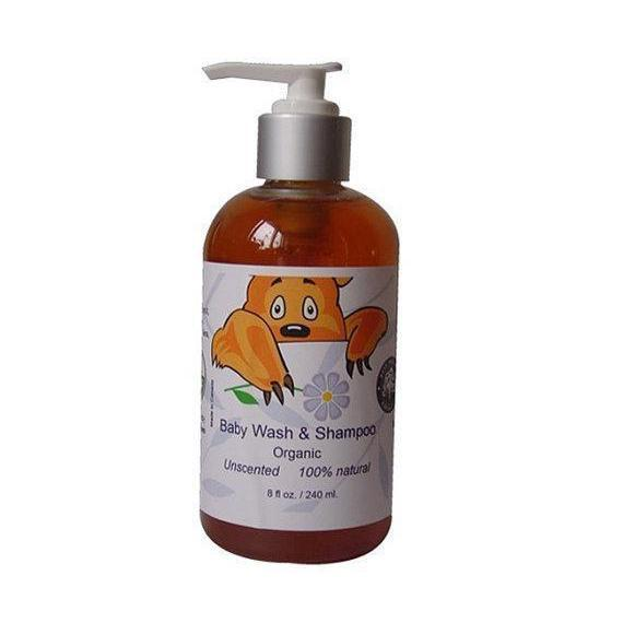 Organic Baby Wand Shampoo Great for Sensitive Skin-Bath-healthorganicstore.com