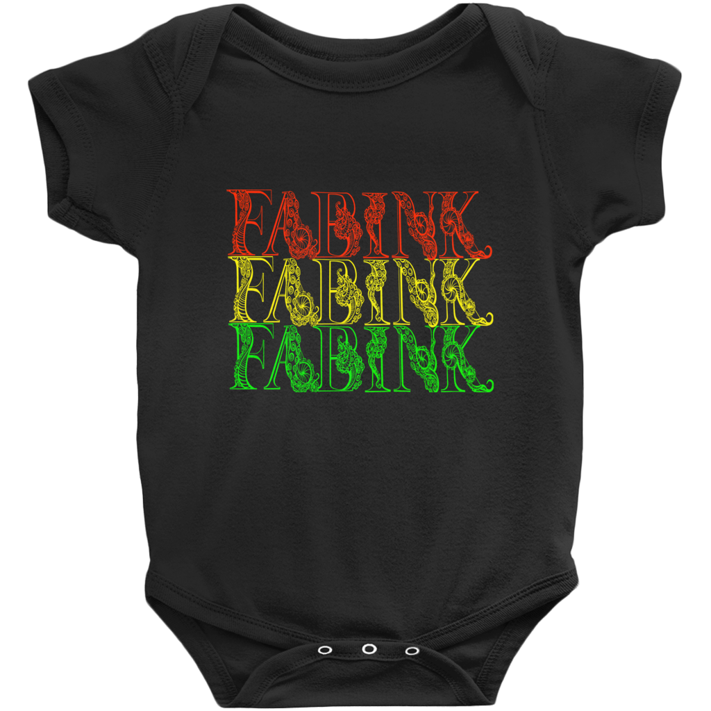 'Fab Ink Roots' Baby Onesie