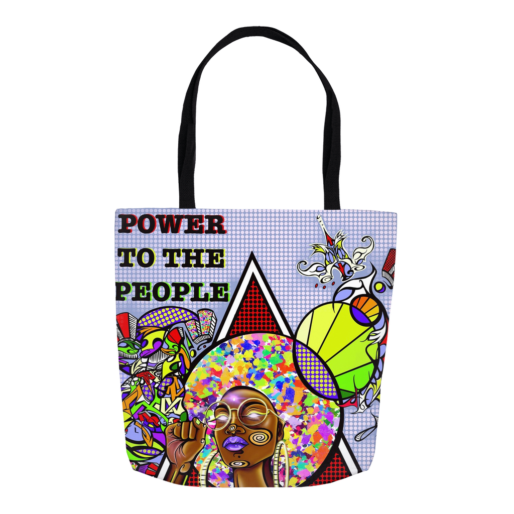 'POWER TO THE PEOPLE' Tote Bag